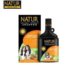 Natur Shampoo Moringa Oleifera Extract Untuk Rambut Rusak dan Bercabang