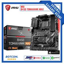 MSI B450 Tomahawk Max | Motherboard Mainboard Mobo Processor Amd Ryzen Am4 Ddr4 Atx Pc Gaming