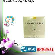 Nasa Moreskin Two Way Cake - Bright - Menutupi Noda Hitam - Ringan - Tahan Lama - Original - BPOM - Ken Herbal
