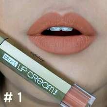 B Erl Lipmatte Cream (01) Nude Brown Tahan Lama Tidak Kering Di Bibir