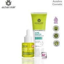 Azarine Spa & Cosmetics AZARINE Paket Anti Acne/Mengatasi Wajah Bruntusan - 2pcs ( Cleansing Foam & Serum )