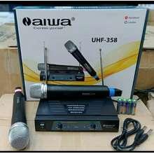 Aiwa Mic Wireless Uhf 358