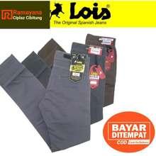Lois Original Csl Celana Chinos Slimfit Pria Murah / Chino Abu Grey Khaky Brown Ramayana Cibitung