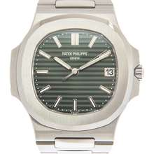 Patek Philippe Nautilus Automatic Green Dial Mens Watch 5711 1A 014