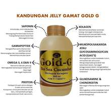 Gold G Termurah Jelly/Jely/Jeli Gamat Gold-G 500 ml Obat asam urat 100% Original - Herbaly Jakarta