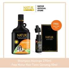 natur Shampoo Moringa Sweet Almond Oil 270Ml