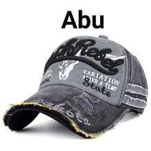 Rebel Topi Black Baseball Import Br 01 Abu