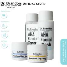 Lokal Brand Dr.Brandon Whitening & Glowing Face Treatment Package