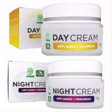 HNI HPAI Paket Cream HPAI Night Cream + Day Cream / Krim HPAI Pelembab penghilang jerawat dan flek hitam cream Creah glowing