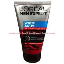 L'Oreal Men Expert White Activ Anti Acne Volacano Pembersih Muka Pria