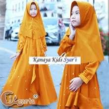 Kanaya Chm Kids Maxi Dress Syari Gamis Pakaian Muslim Anak Perempuan