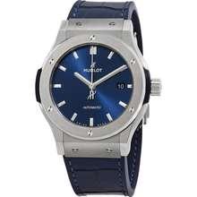 Hublot Classic Fusion Automatic Blue Dial Mens Watch 542.NX.7170.LR