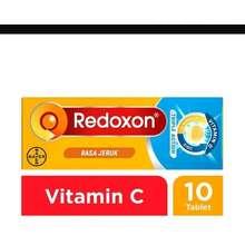 redoxon Tripple Action isi 10 tablet rasa Jeruk