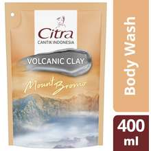 Citra Volcanic Clay Body Wash Reffil 400 Ml