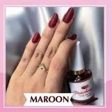 Henna COD Strawberry Nail Kutek Kuku Halal BPOM 15 ml Maroon