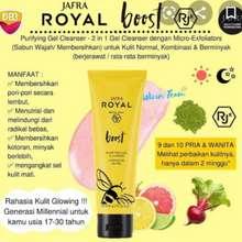 JAFRA Royal boost Purifying cleanser gel Original