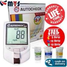 Autocheck AUTOCHECK ALAT GCU 3 IN 1 Alat Test Gula Kolesterol Asam Urat