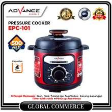 Advance Electric Pressure Cooker EPC-101 Panci Presto 4 Liter EPC101