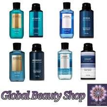 Bath&Body Works [ Paket Grooming Pria ] Ocean - Midnight Bath And Body Works
