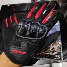 SCOYCO Sarung Tangan Sepeda Motor Mc58 Original Gloves Mc58 Merah M