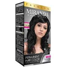 Miranda Miranda Premium Hair Color MC - 1 Natural Black