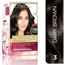 Loreal Loreal Excellence Creme 3 Dark Brown