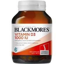 Blackmores Blackmores Vitamin D3 1000 IU