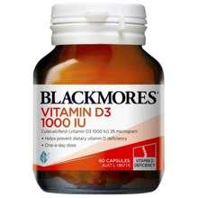 Blackmores Blackmores Vitamin D3 1000 IU 60 Kapsul