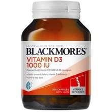 Blackmores Blackmores Vitamin D3 1000 IU 200 Kapsul
