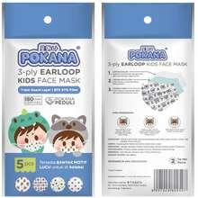 Pokana Pokana Earloop Kids Face Mask 3-ply