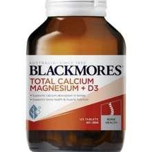 Blackmores Blackmores Total Calcium Magnesium + D3 125 Tablet