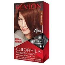 Revlon Revlon ColorSilk Cat Rambut Beautiful Color Dark Auburn
