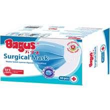 Bagus Surgical Mask Biru 50 Pcs